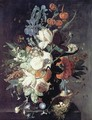 A Vase of Flowers - Jan Van Huysum
