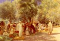 Marche En Kabylie (March in Kabylie) - Louis Joseph Anthonissen