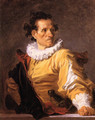 Portrait of a Man called 'The Warrior' - Jean-Honore Fragonard