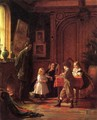 Christmas-Time, The Blodgett Family - Eastman Johnson
