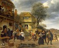 Peasants outside an Inn - Jan Steen