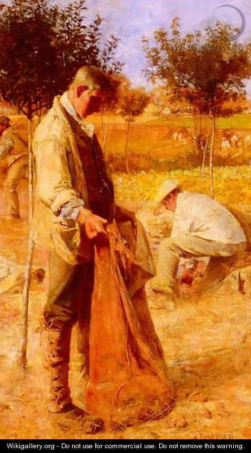 The Potato Harvesters - Flora MacDonald Reid