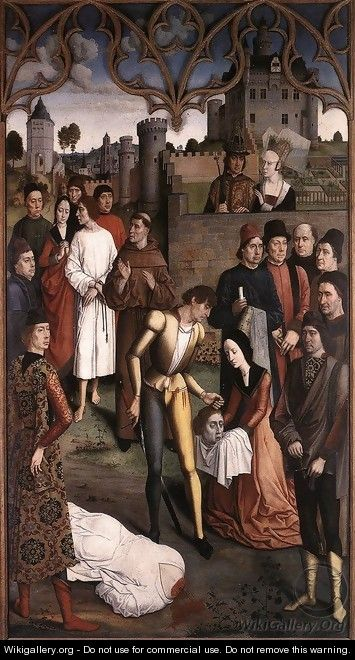 The Execution of the Innocent Count - Dieric the Elder Bouts