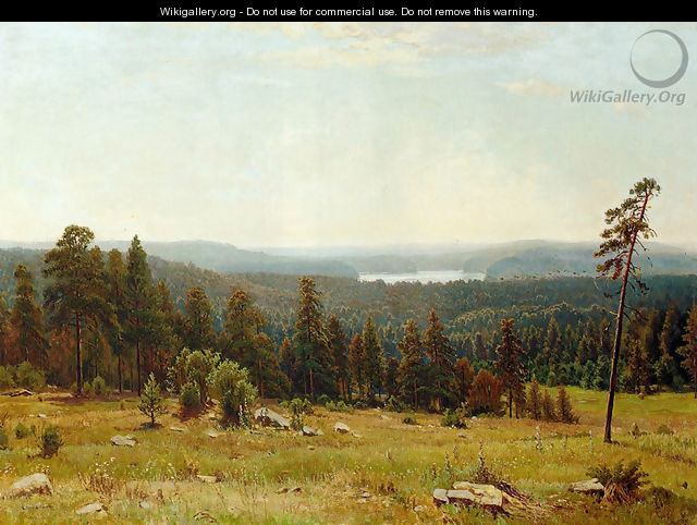 A Lakeside Forest - Ivan Shishkin