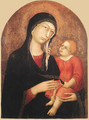 Madonna and Child (from Castiglione d'Orcia) - Simone Martini