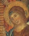 The Madonna in Majesty (Maestà) [detail #2] - (Cenni Di Peppi) Cimabue