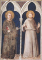 St Anthony and St Francis - Simone Martini