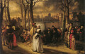 Promenade hors les murs (Walk out by the walls) - Baron Jan August Hendrik Leys