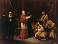 El Beato Juan de Ribera en la expulsión de los moriscos (The Blessed Juan de Ribera in the Expulsion of the Moors) - Francisco Domingo Marques