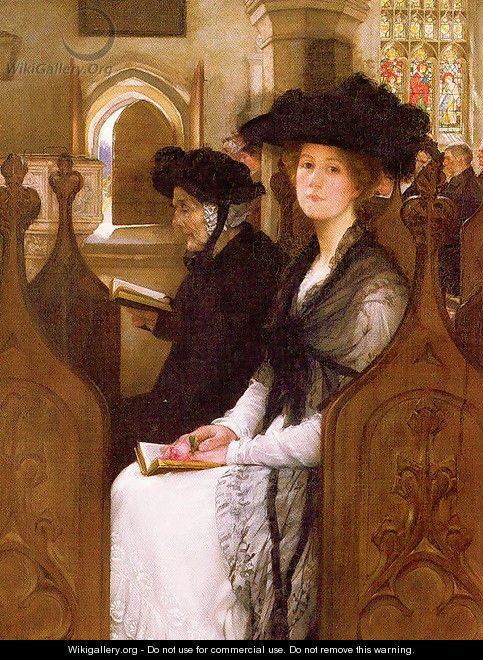 Wandering Thoughts - Francis Davis Millet