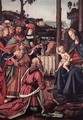 Adoration of the Kings (Epiphany) [detail: 1] - Pietro Vannucci Perugino