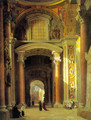 Interior of St. Peters, Rome - Heinrich Hansen