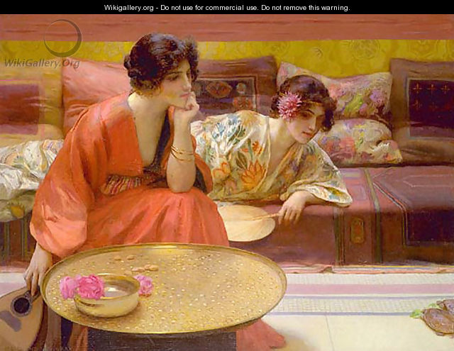 Idle Hours - Henry Siddons Mowbray