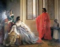 Caterina Cornaro Deposed from the Throne of Cyprus - Francesco Paolo Hayez