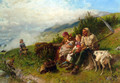 Travelers at Rest - Conrad Grob