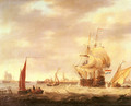 Merchant Ship and Fishing Vessels off the Dutch Coast - George Webster