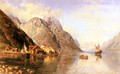 Village on a Fjord - Anders Monsen Askevold