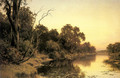 A Backwater of the River Murray, South Australia - Henry James Johnstone