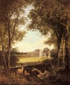 A View of Norton Hall, near Daventry, North Hamptonshire, England - Henry John Boddington