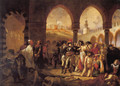 Bonaparte Visiting the Pesthouse in Jaffa, March 11, 1799 - Antoine-Jean Gros