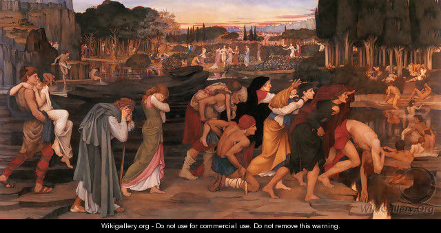 The Waters of Lethe by the PLains of Elysium - John Roddam Spencer Stanhope