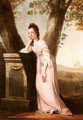 Portrait of a Lady, said to be Thesesa Parker (1744-1775), Wife of John Parker, Later Lord Borington - Benjamin Wilson