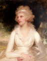 Portrait of Sophia Anne Raymond-Barker - Sir William Beechey