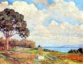 Large Tree Near The Sea - Theo Van Rysselberghe
