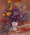 Vase Of Flowers - Georges Lemmen