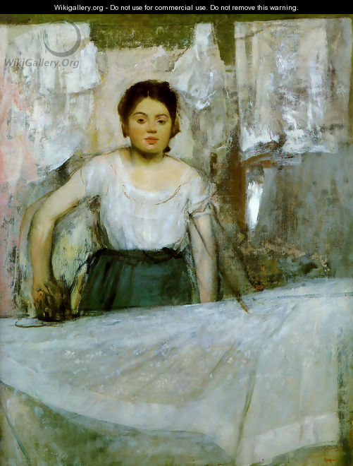 Woman Ironing - Edgar Degas