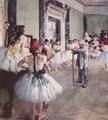 The Dance Class 1873-76 - Edgar Degas