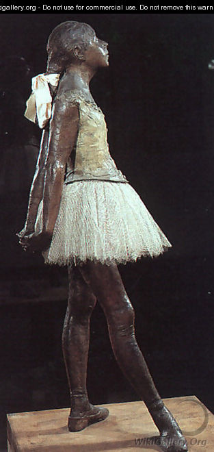 Young 14 Year Old Dancer - Edgar Degas