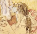 Woman At Her Toilet - Edgar Degas