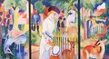 A Zoological Garden - August Macke