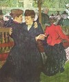 Two Women Dancing At The Moulin Rouge - Henri De Toulouse-Lautrec