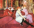 The Waitting Room In The Rue Of The Moulins - Henri De Toulouse-Lautrec