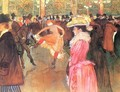 Party In Thr Moulin Rouge - Henri De Toulouse-Lautrec