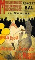 Moulin Rouge La Goulue - Henri De Toulouse-Lautrec