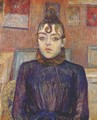 Lautrec Girl With Lovelock - Henri De Toulouse-Lautrec