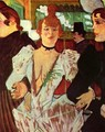 Goule Enters The Moulin Rouge With Two Women - Henri De Toulouse-Lautrec