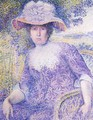 Portrait Of Madame Cross - Henri Edmond Cross