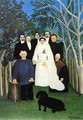 The Wedding - Henri Julien Rousseau