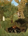The Merry Jesters - Henri Julien Rousseau