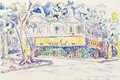 Van Goghs House In Arles - Paul Signac