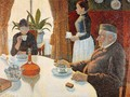 The Dining Room 1887 - Paul Signac