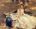 The Pink Dress - John Singer Sargent