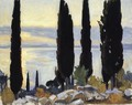 Cypress Trees At San Vigilio - John Singer Sargent