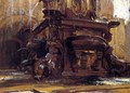 Fountain At Bologna - John Singer Sargent