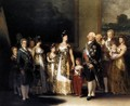 Charles IV And His Family - Francisco De Goya y Lucientes