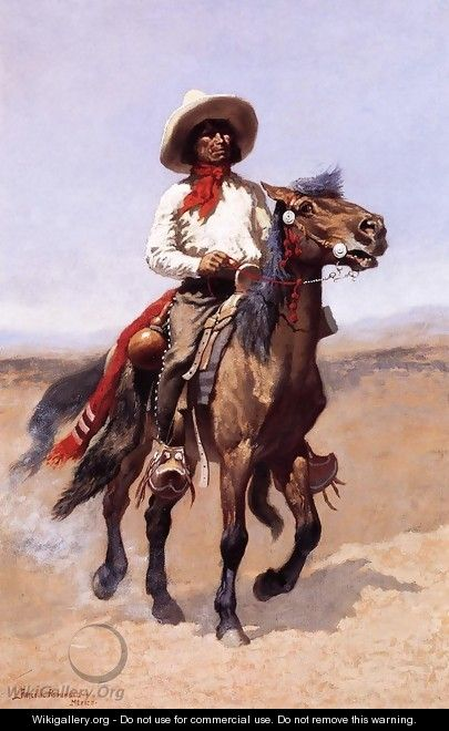 A Regimental Scout - Frederic Remington